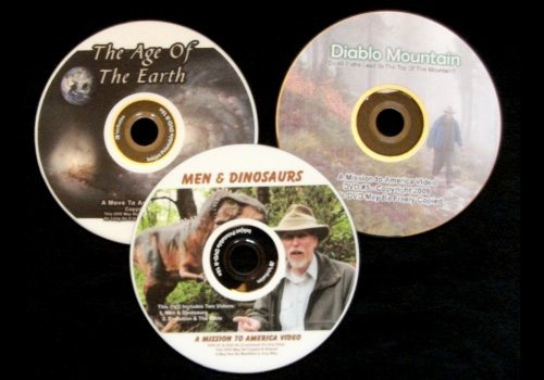 Creation and Evangelism DVDS produced by MTA